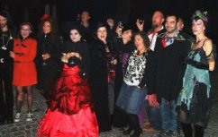 Halloween in Transylvania, Romania